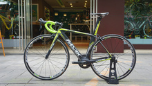 PASAK EDGE S3 5 full carbon fiber T800 complete road racing cycling green bike/bicycle 5800 10S group+wheel+saddle+handlebar