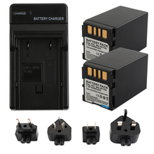 2XBN-VF733 BN-VF733U BNVF733 BNVF733U VF733 Battery+Charger for JVC GR-D240 GR-D244 GR-D245 GR-D246 GR-D247 GR-D250 GR-D253 d270