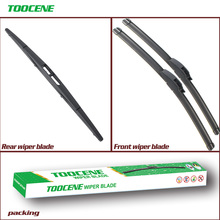Front and Rear Wiper Blades For Acura RDX 2007-2011 pair 26''+16''+ 14 auto windshield Windscreen Wiper Rubber Car Accessories oge front and rear wiper blades for fiat 500 2007 2016 windscreen windshield natural rubber car accessories