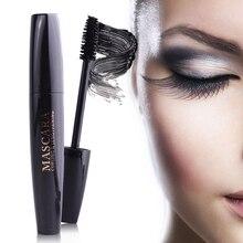 New Arrival 1pc Fashion 4D Waterproof Nature Mascara Women Silk Fiber Eye Lashes Curl Extension Kit