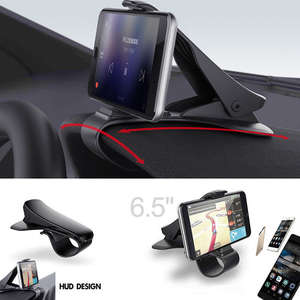 Universal Car HUD Dashboard Mount Holder Stand Bracket Smartphone Antiskid Car Holder