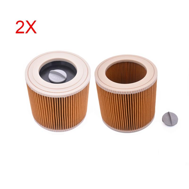 2 PCS/LOT, pour Karcher A & WD Series A2004 A2054 A2204 A2656 WD2.250 filtres de remplacement de filtre Hoover sous vide humide et sec2 PCS/LOT, pour Karcher A & WD Series A2004 A2054 A2204 A2656 WD2.250 filtres de remplacement de filtre Hoover sous vide humide et sec