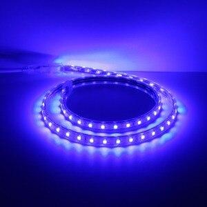 OSIDEN СВЕТОДИОДНАЯ лента SMD 5050 AC220V водонепроницаемая гибкая лента 220 В лампа наружная гирлянда 60 светодиодов/м для рождества праздника