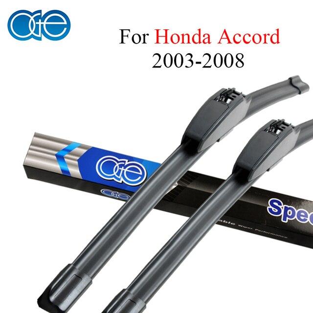 Oge Wiper Blades For Honda Accord 2003 2004 2005 2006 2007 2008 High  Quality Rubber Windscreen