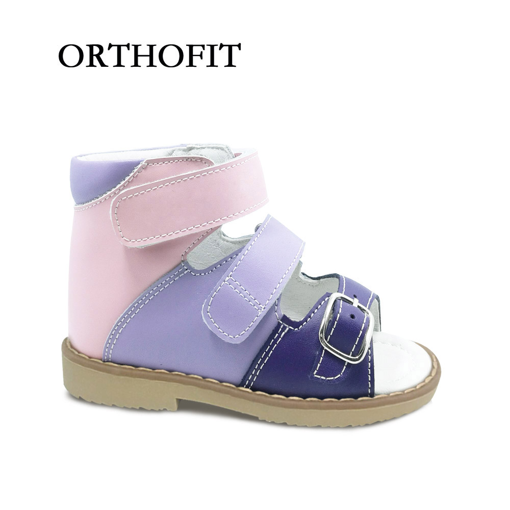 European sandals shoes - European Toddler Beautiful Summer Leather Sandals Buckle Strap Orthopedic Shoes For Children China Mainland