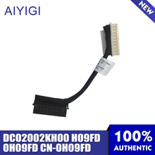 Aiyigi ноутбук Батарея кабель для Dell DC02002KH00 H09FD 0H09FD CN-0H09FD светодиодный кабель передачи данных Тетрадь аксессуары