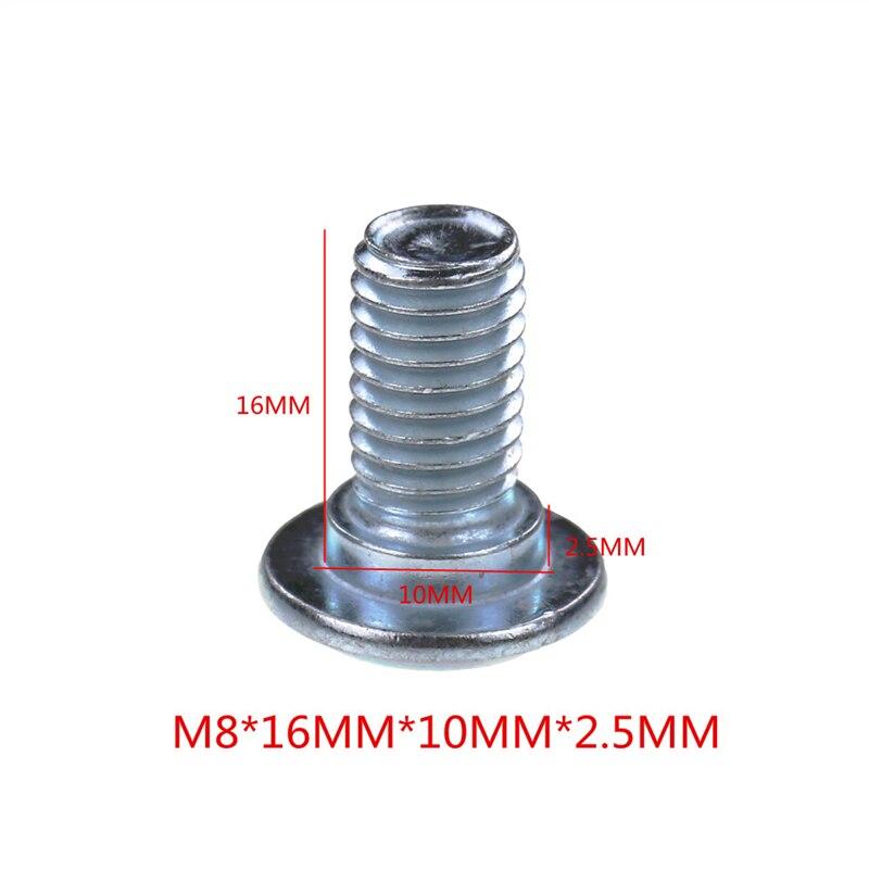 Мотоцикл тормозной диск/Винты для ротора болты M8* 1,25 мм* 25 мм/35 мм углеродистая сталь 8,8 Рычаг Универсальный для Honda Yamaha Kawasaki Suzuki