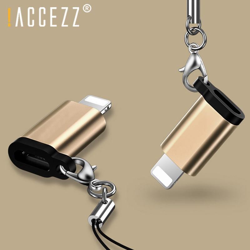 ¡! ACCEZZ 4 Uds adaptador de iluminación USB a Micro USB Cable para iPhone iPad X XS X MAX XR 7 8 6S 5 convertidor de carga de sincronización de datos conector OTG Universal 3 en 1 tipo OTG-C lector de tarjetas USB 3,0 USB Hub Micro USB Combo a 2 ranura TF SD tipo C lector de tarjetas para teléfonos inteligentes PC