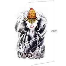 Тату наклейка временная татуировка боди арт рукав для татуировки