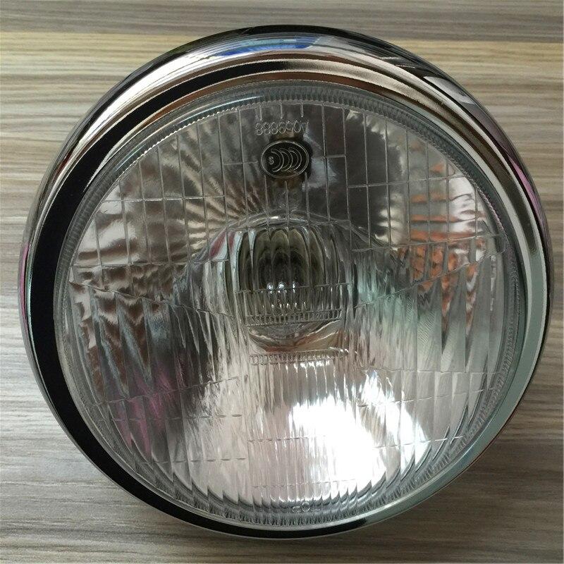 STARPAD pour Suzuki modifié LED assemblage de phares EN125-2A2F Rui Shu route Pa 7 pouces phare rond abat-jour en verre phare Motorcyc