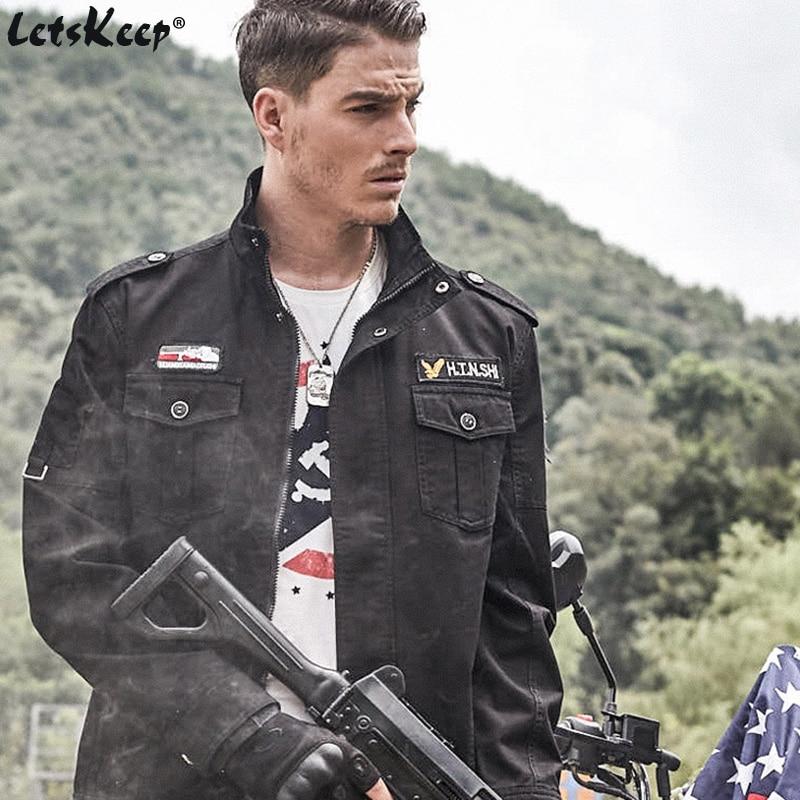 Veshja e re e xhaketave të zeza të bombave të zeza të burrave, - Veshje për meshkuj - Foto 1
