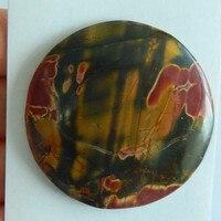 Multi Color Picasso Jasper Stone Cabochons 50x60x7mm 29 52g