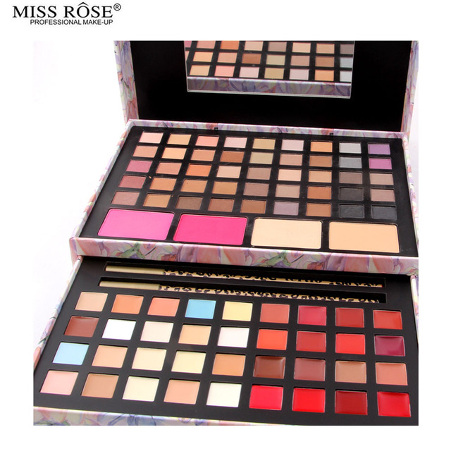 2 Option Asian and South America Color Eyeshadow Palette