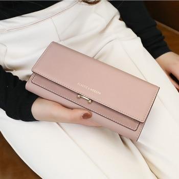 Fashion Women Long Clutch Wallet Large Capacity Wallets Female Purse Lady Purses Phone Pocket Card Holder Carteras