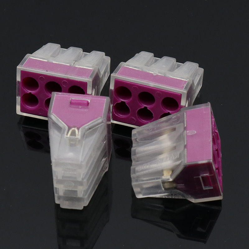 10x Building wiring terminal connector <font><b>6Pin</b></font> <font><b>wire</b></font> connector 1-2.5mm2 PCT-106 image
