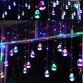 Guirlande Lumineuse Levou Navidad Coversage 3 M Fada Luz Cordas Do Feriado Do Natal Ao Ar Livre Decorativa Guirlandas Cortina Tira Natal