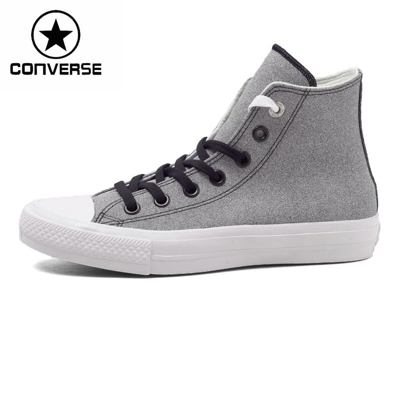 Prix pour Original Nouvelle Arrivée Converse all star II Unisexe Planche À Roulettes Chaussures Toile Sneakers en cuir