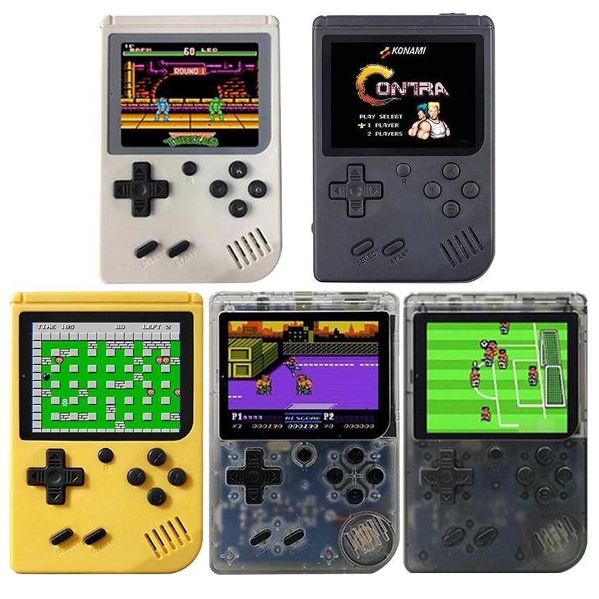 Children Retro Mini Portable Handheld Game Console Players 3.0 Inch Black 8 Bit Classic Video Handheld Game Console