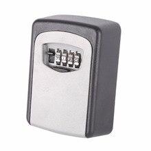 """Полезные открытый сейфа ключ """"ключ для хранения Организатор с 4 цифры настенные сочетание пароль крючок ключи организатор коробки"""