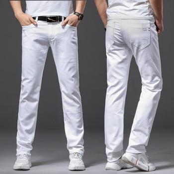 Men White Jeans 5
