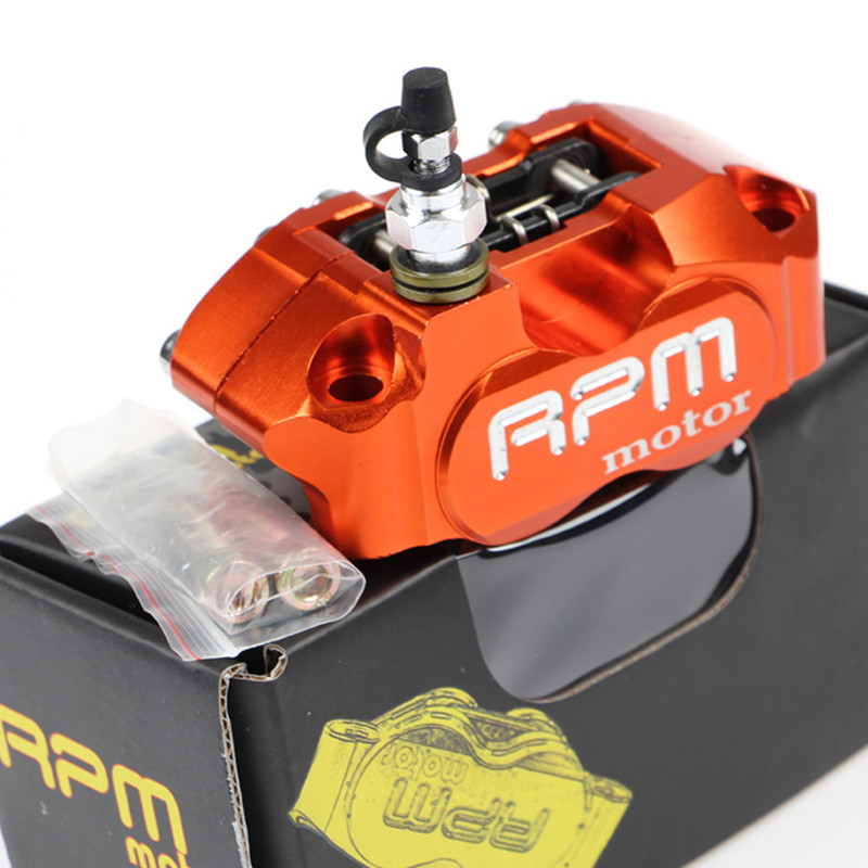 New RPM Brand CNC Motorcycle Brake Calipers Brake Pump For Yamaha Aerox Nitro BWS 100 Jog 50 rr Zuma Honda Dio Suzuki Aprilia SR rpm motorcycle brake calipers brake pump adapter bracket for yamaha aerox nitro jog 50 rr bws 100 zuma rsz