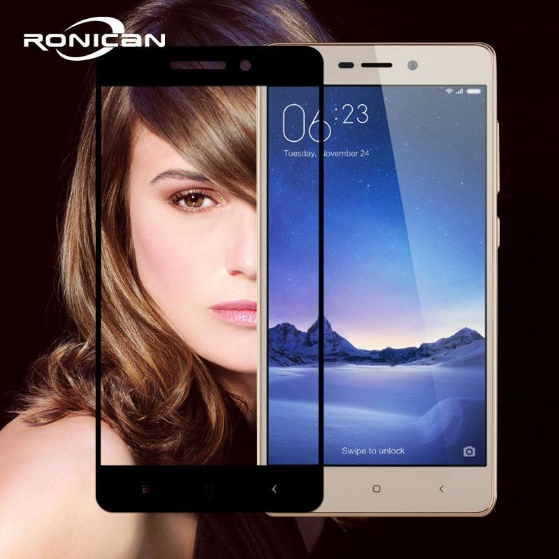 Full Cover Tempered Glass For Xiaomi Redmi 3S 3 S Phone Screen Protector For Xiaomi Redmi 3 Pro Redmi 3S 5.0
