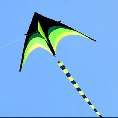 Envío de la alta calidad encantadora muchacha de la belleza con la línea de la manija al aire libre juguete volador ripstops nylon kite surf kite pulpo