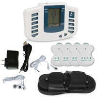 New JR309 4 Electrode Pads With Therapy Slipper Pulse TENS Acupuncture Electrical Stimulator Full Body Relax