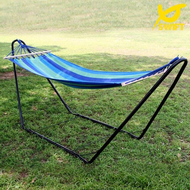 cotton hammock stand nylon rope hammock frame canvas hammock steel hammock stand