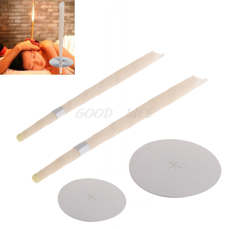 2 Sets Ear Candles Health Care Wax Removal Cleaner Treatment Therapy Coning Fragrance Portable Health Care Ear Care New