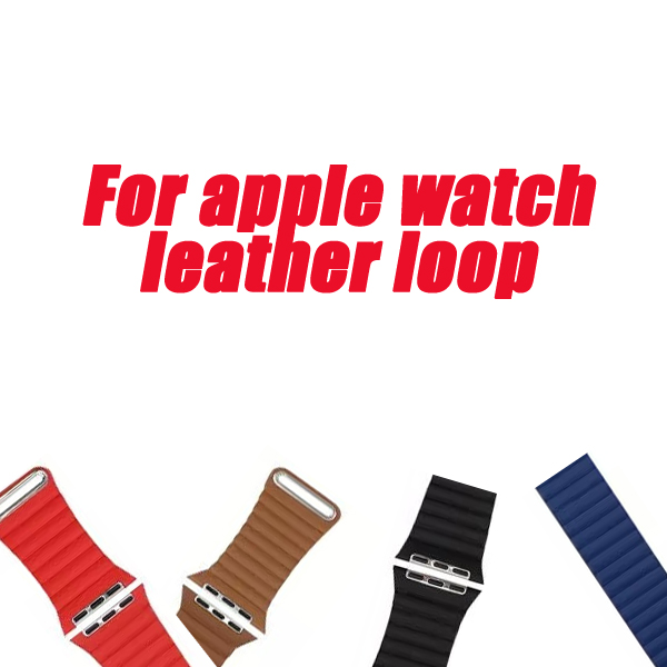 series 4/3/2/1 Leather Loop band For Apple Watch straps Band 38/40/42/44mm Adjustable Magnetic Closure Strap For iWatch bracelet leather loop band for apple watch series 3 2 adjustable magnetic closure loop strap watchband for apple watch 42 38 40 44mm ba