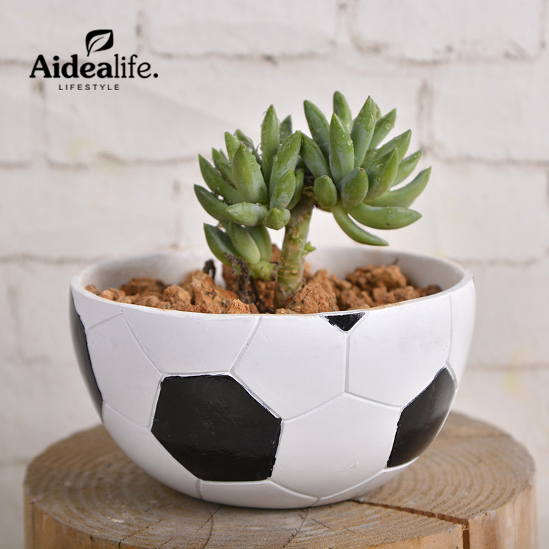 indoor modern planters succulents pots for balconies green house Promotion nursery pot Promotion artificial potted flowers