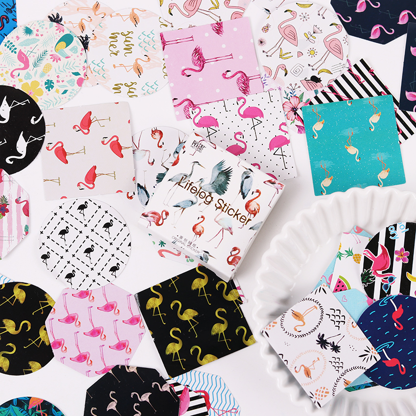 90PCS/2sets Animal Diary Stickers Pack Post it Kawaii Planner Scrapbooking Sticky Stationery Escolar New School Supplies 45pcs lot cute cup of animals diary sticker post it kawaii planner scrapbooking sticky stationery escolar school supplies