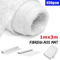 New 1x3m 450gsm Fibreglass Mat Fiber Glass Cutting Fiber Cloth Alkali free Fiberglass Chopped Strand Matting for GRP Resin