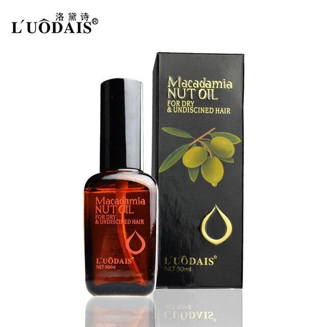 50ml Hair Care Hair & Scalp Treatment Pure Moroccan Argan Oil Macadamia Nut Oil For Dry And Damaged Hair