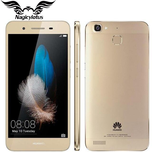 Оригинал huawei 5s мобильного телефона 2 ГБ ram 16 ГБ rom 5 дюймов Android 5.1 Окта основные MTK6753 1.5 ГГц 4 Г Поддержка Dual SIM 13.0MP