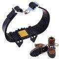 1 Par Profissional Acampamento Escalada Crampon Gelo Anti Slip Gelo Neve Andar de Sapatos de Caminhada de Spike Aperto Equipamento Ao Ar Livre