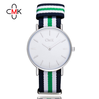 CMK Classic Cambridge Wrist Watch Men's Slim Quartz Watch Designer Males Fashion Wristband Clock 2018 New Brand Relojes Moda