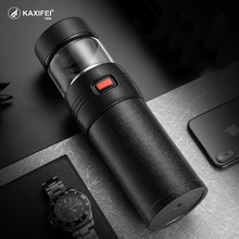 2019 New KAXIFEI 580ml Stainless Steel Thermos Bottle Thermocup Tea Vaccum Flasks Gift Thermal Mug With Tea Insufer For Office