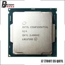 Procesador Intel Core i7-7700T ES i7 7700T ES QKYL, Quad-Core procesador de ocho hilos CPU 8M 35W LGA 1151