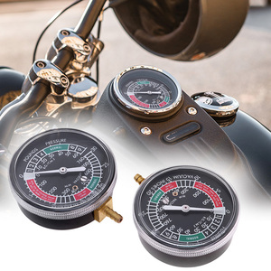 Image 1 - 2 Pcs Universal Motorcycle Carburateur Carb Vacuüm Gauge Past Voor Yamaha Honda Suzuki Balancer Synchro 2 Cilinder Meters Kit