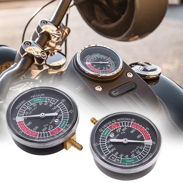 2 Pcs Universal Motorcycle Carburateur Carb Vacuüm Gauge Past Voor Yamaha Honda Suzuki Balancer Synchro 2 Cilinder Meters Kit