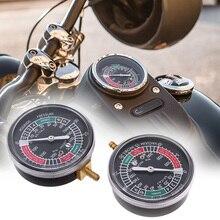 Carburador Universal para motocicleta, 2 uds., indicador de vacío de carburador compatible con Yamaha, Honda, Suzuki, juego de medidores de 2 cilindros