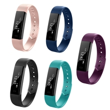 Smart Band ID115 Weistband Message Push Heart Rate Fitness Tracker Passometer Wristband For Ios Android Phone
