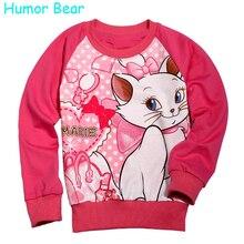 Humor Bear Automne Mode Enfants Usure Clothing Marie de Bande Dessinée À Manches Longues T-Shirts Pour Bébé Filles Vêtements Enfants Clothing