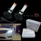 PA LED 1 paar x Car Auto Koplamp H7 Voor LED LED Chip Lamp Lamp Kit PA H7 Fog Rijden licht Super White 9 32 V