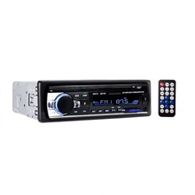 12 В автомобилей Радио стерео аудио плеер Bluetooth телефон AUX-IN MP3 FM/USB/1 Din/Remote Управление авторадио