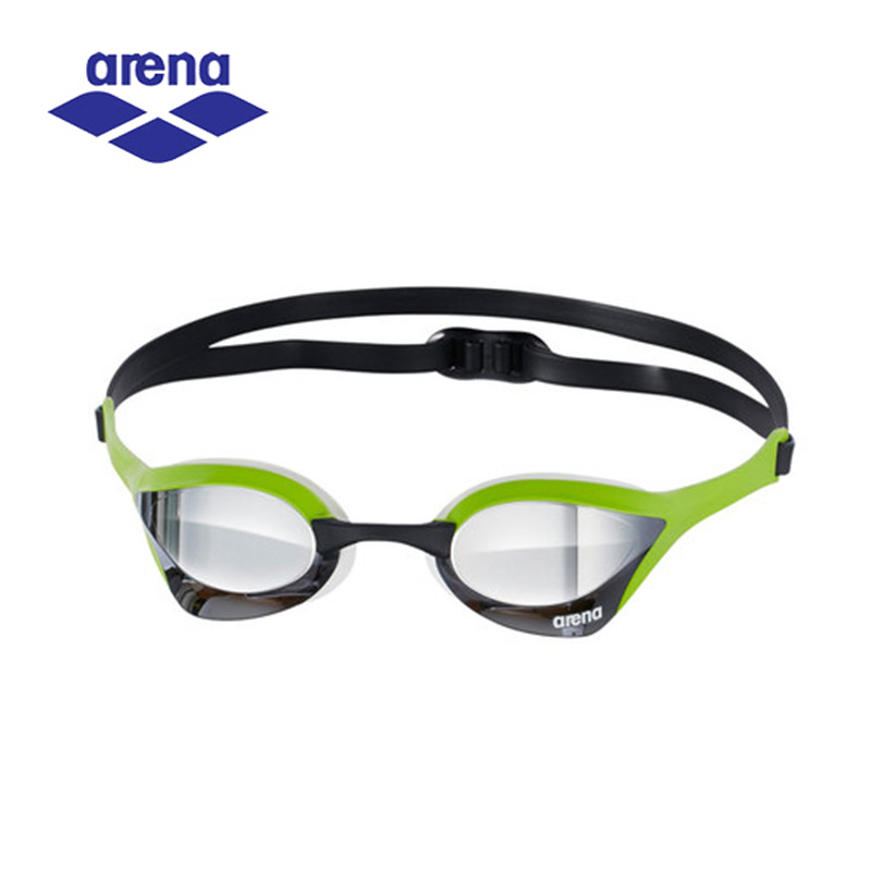 Arena Ultra Mirrored Swimming Goggles for Men Professional Racing Swimming Glasses Adjustable Eyewear AGL-180M(China)