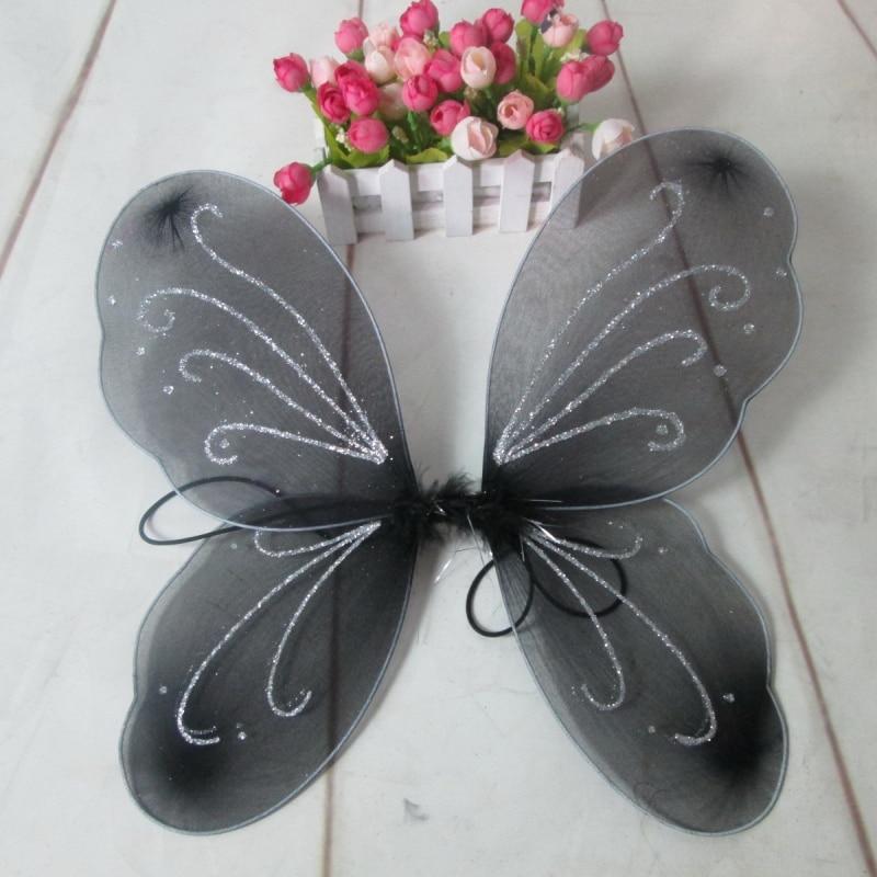 Child Kids Girl Angel Fairy Butterfly Wings Halloween Fancy Dress Party Costume