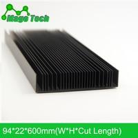 LED Aluminum Heatsink Plate Grow Light Radiator Cooling Cooler Fit Transistor IC Thermal Conductivity LED Radiator Electronics